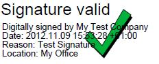 Pdf digitally signed