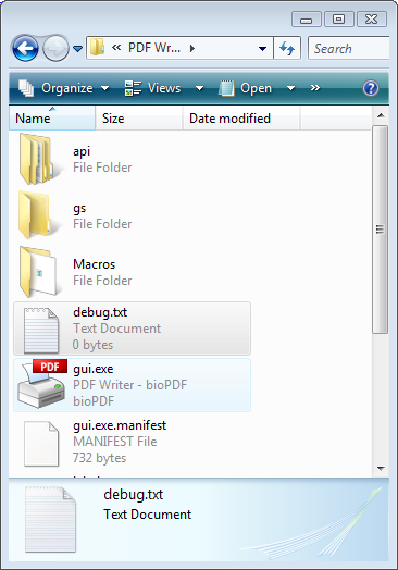 Program Write Pdf Files