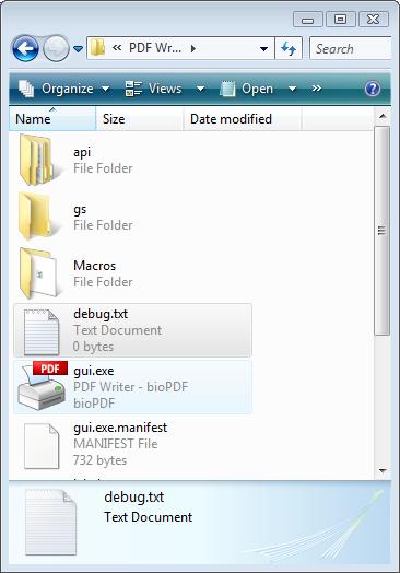 Trouble pdf having files ing